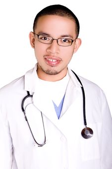 Free Doctor At Work Stock Photo - 6375000