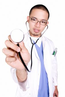 Free A Doctor Check Up Royalty Free Stock Images - 6375079