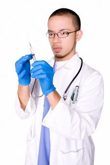 Free Doctor On Duty Stock Photography - 6375092
