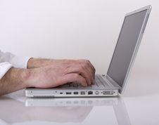 Free Laptop Work Royalty Free Stock Photo - 6375095
