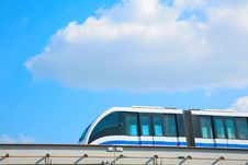 Free Monorail On Sky Background Stock Photography - 6375402