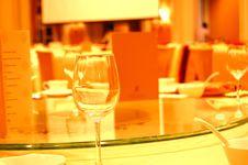 Luxury Hotel Restaurant Stock Image