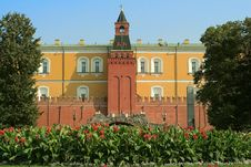 Free View Of One Of The Kremlin Towers Stock Photos - 6375823