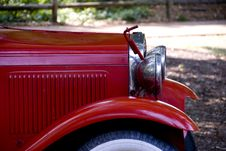 Free Old Red Fire Truck Stock Images - 6375954