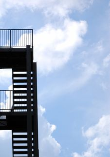 Free Fire Escape Royalty Free Stock Photos - 6376238