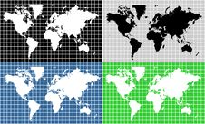 Free World Map Stock Photography - 6376302