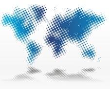 Free World Map Stock Photos - 6376373