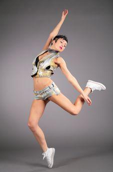 Free Beauty Woman Dances Stock Photo - 6376390