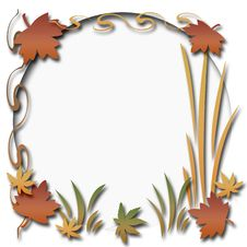 Free Autumn Scrapbook Frame Royalty Free Stock Photography - 6376677