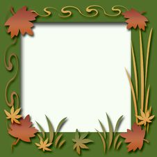 Free Autumn Scrapbook Frame Royalty Free Stock Images - 6376719