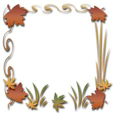 Free Autumn Scrapbook Frame Stock Image - 6376721