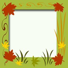 Free Autumn Scrapbook Frame Stock Images - 6376724
