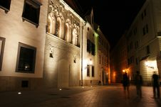 Free Bratislava At The Night Stock Images - 6377044