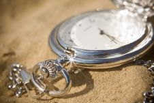 Free Pocket Watch Royalty Free Stock Image - 6378146
