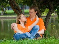 Free Loving Couple Royalty Free Stock Photos - 6378168
