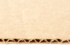 Free Cardboard Texture Royalty Free Stock Photography - 6378187