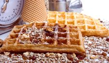 Free Waffles From Integral Wholegrain Stock Photos - 6378743