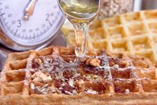 Free Waffles From Integral Wholegrain Stock Photography - 6378752