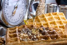 Free Waffles From Integral Wholegrain Royalty Free Stock Photography - 6378757