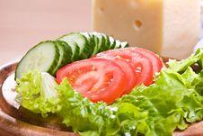 Free Salad Royalty Free Stock Photo - 6378785
