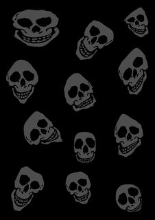 Free Skull Background Royalty Free Stock Image - 6379066