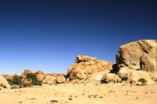 Free Blu Sky And Rock Stock Images - 6379164
