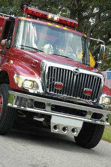 Free Fire Truck II Royalty Free Stock Photo - 6379265