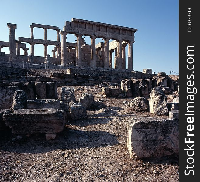 Ancient Greek Temple of Aphaia