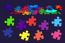 Puzzle Colorful