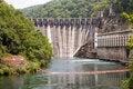 Free Flood Gates Of A Dam Royalty Free Stock Photos - 6380298