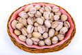 Free Pistachio Nuts In A Bowl Stock Photo - 6380530