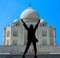 Free The Taj Mahal Mausoleum - Agra Stock Image - 6381311