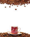 Free Cup Of Coffee And A Seeds Stock Photography - 6383322