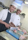 Free Chef At Butcher Royalty Free Stock Photos - 6385758