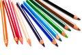 Free Beautiful Color Pencils Royalty Free Stock Photos - 6386828
