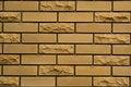 Free Yellow Brick Wall Stock Image - 6388401