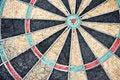 Free Radial Pattern Of Old Dartboard Stock Image - 6389711
