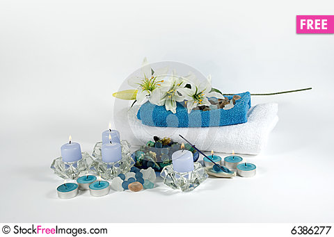 Free Aromatherapy Objects For Spa Royalty Free Stock Photography - 6386277