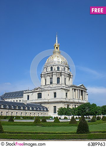 Free Palace Of The Disabled, Paris, France Stock Photos - 6389963