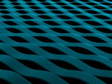 Free Abstract Blue Waves Royalty Free Stock Images - 6380099