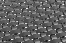 Free Large Metallic Weave Pattern Stock Images - 6380134