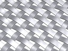 Free Metal Grey Weave Pattern Stock Images - 6380154