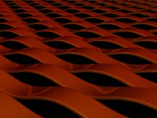 Free Reflective Red Waves Royalty Free Stock Photography - 6380177