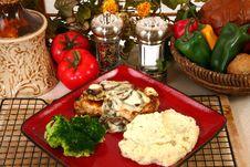 Free Chicken Portobello Stock Photo - 6380210