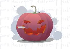 Free Smoking Pumpkin Royalty Free Stock Photo - 6380575