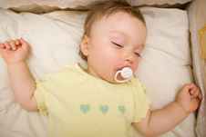 Free Sleeping Baby Royalty Free Stock Photos - 6380678