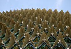 Free Esplanade Roof Royalty Free Stock Photography - 6380937