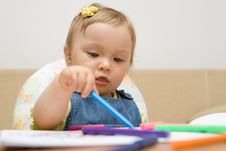 Free Baby Drawing Stock Images - 6381024