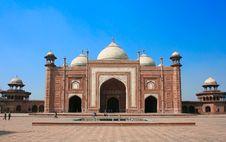 The Entrance To Taj Mahal Stock Images