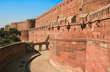 Free Agra Fort, India Stock Photography - 6381392